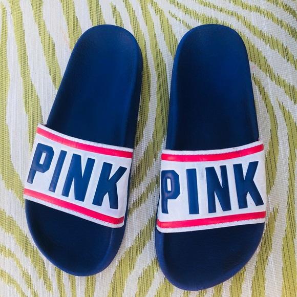 8763cae45bb66 Victoria's Secret PINK slides sz: Med